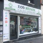 Ecorepair - lettrage vitrine