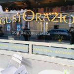 GustOrazio - lettrage vitrine